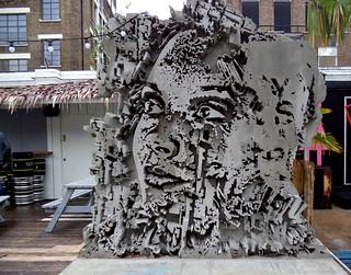 Sculpture by Alexandre Farto