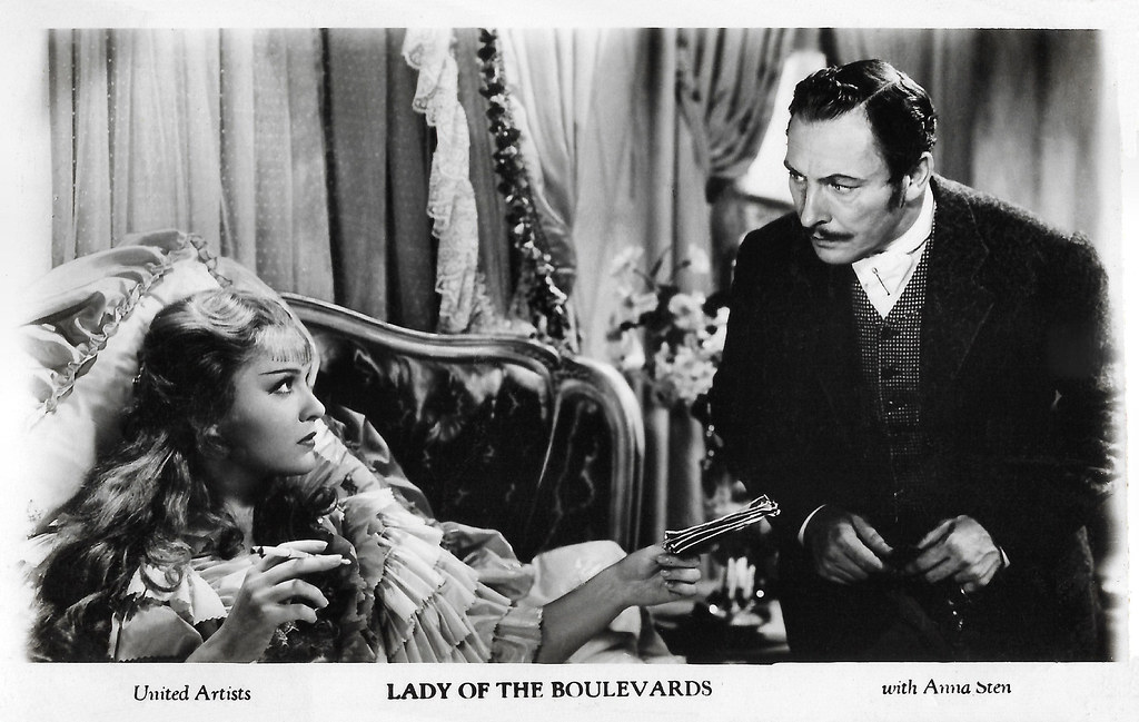 Anna Sten and Lionel Atwell in Nana (1934)