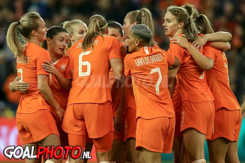 Nederland - Mexico 05-04-2019