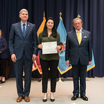 Fri, 03/29/2019 - 14:36 - On Friday, March 29, 2019, the William J. Perry Center for Hemispheric Defense Studies hosted a graduation ceremony for two courses: 'Strategic Implications of Human Rights and Rule of Law' and 'Combating Transnational Threat Networks.' Students from all over the Americas attended the courses from March 18-29, 2019. The graduation ceremony and reception took place in Lincoln Hall at the National Defense University's North Campus at Fort McNair in Washington, DC.