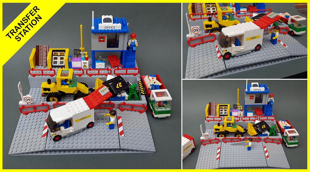 LEGO TRANSFER STATION