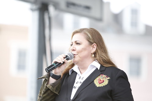 Lena Prima on Day 2 of French Quarter Fest - 4.12.19. Photo by Michele Goldfarb.