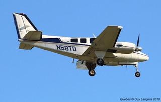 N58TD Private Beechcraft 58P Baron