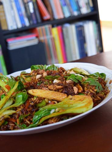 stir fry veggies | by hberthone
