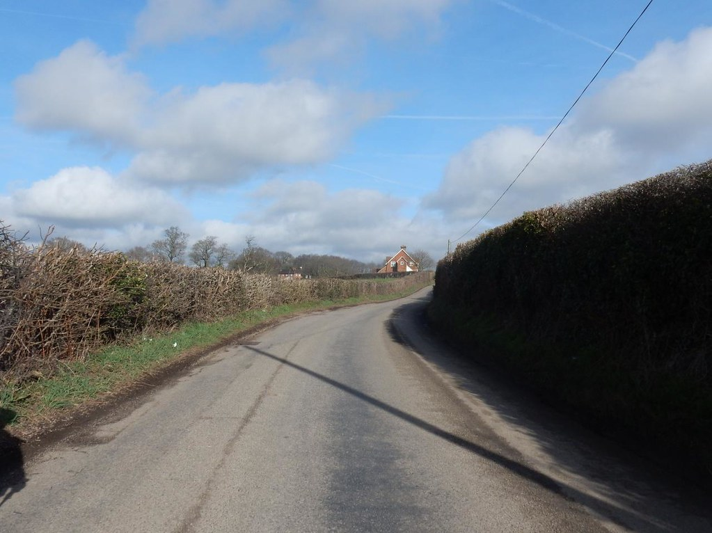 Twisty road Robertsbridge circular