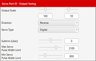 04 - Output Tuning dialog, Servo Ports tab | by JD and Beastlet