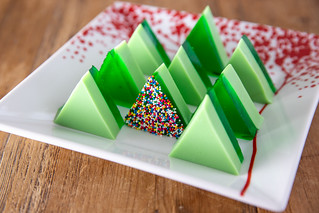 017-2018_12_Jello-Christmas-Trees | by Food Librarian