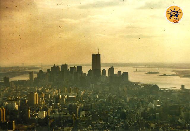 Nueva York, años 80, torres gemelas