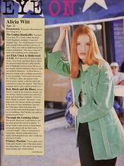 Alicia Witt shot by Steven Sigoloff for Sassy 1996