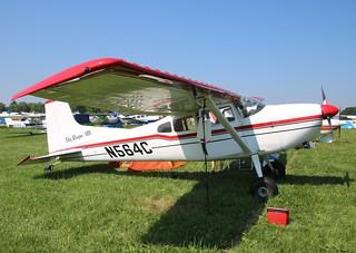 Cessna 185 N564C Oshkosh 24/07/18