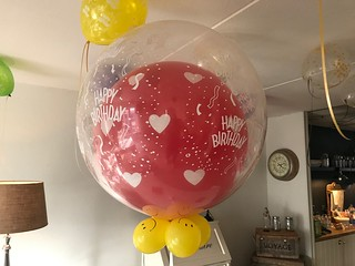 Cloudbuster Rond Happy Birthday | by Globos Ballonnen