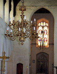 candelabra and tower arch