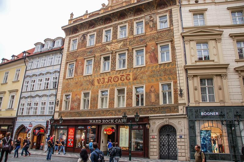 布拉格老城街景 5