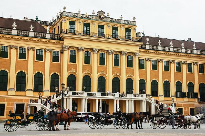 熊布朗宮(Schloss Schonbrunn)正面 2