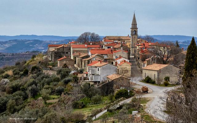 Draguć - najfilmskiji gradić u Istri