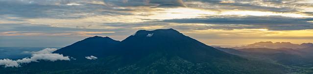 Gunung Marapi. Reward after all day hike
