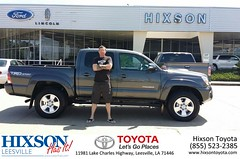 #HappyBirthday to Anthony from Cindy Crosby at Hixson Toyota of Leesville!