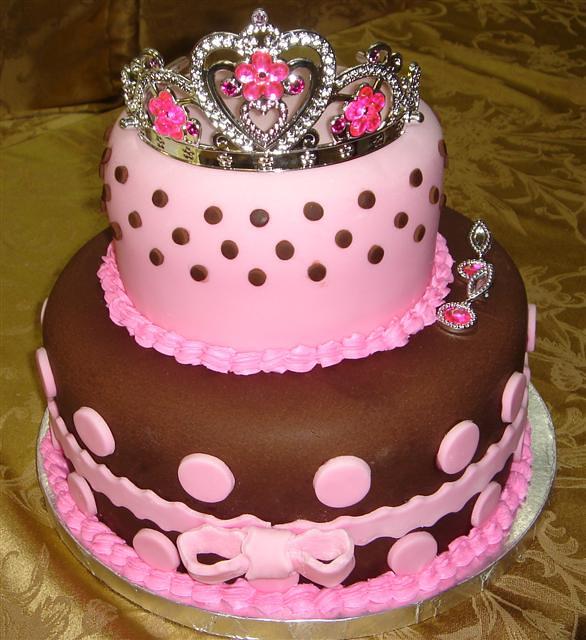 Princess Birthday Cake For Girl