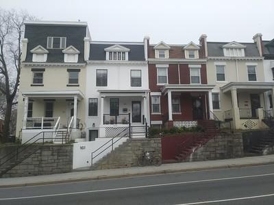 Very bad pop up addition on a rowhouse, 163 Rhode Island Avenue NE