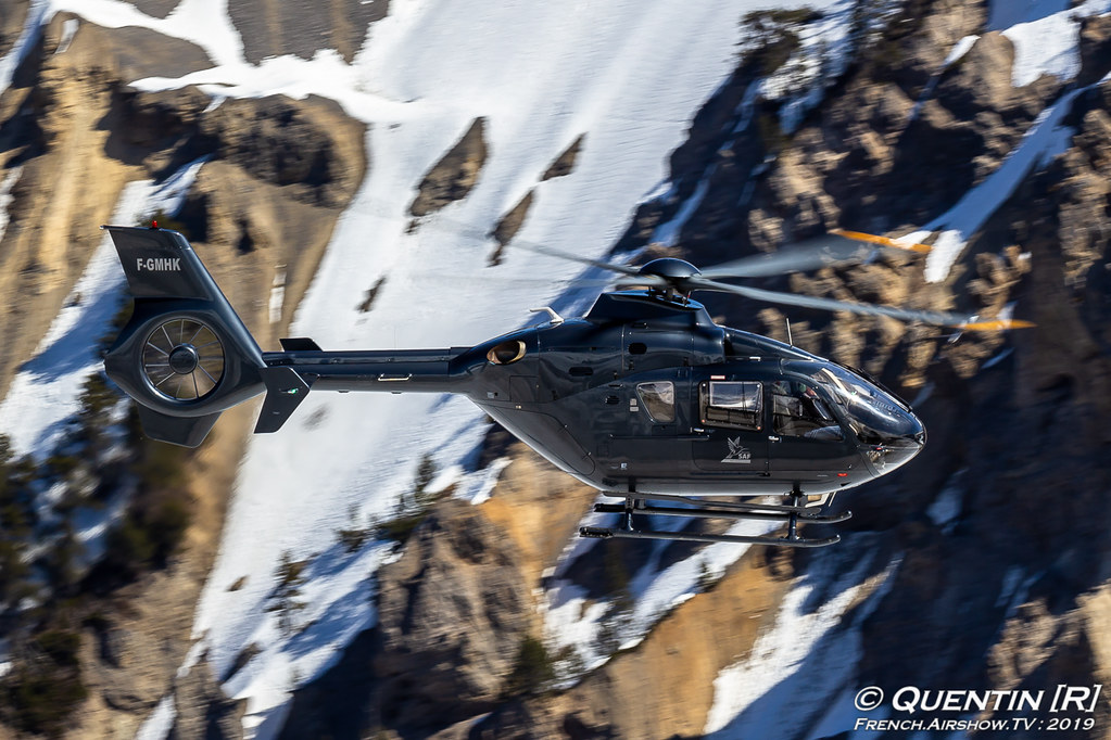 F-GMHK - Eurocopter EC 135T1 - SAF Hélicoptères Fly Courchevel Canon Sigma France French Airshow TV photography Airshow Meeting Aerien 2019