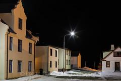Quiet Night in Hólmavík, Iceland