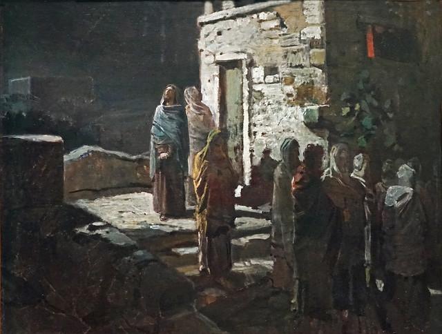 Le départ du Christ pour le jardin de Gethsémani (Grand Palais, Paris)
