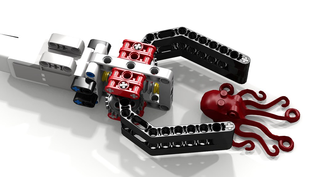 Most Simple Lego EV3 Robot Claw w Octopus | This