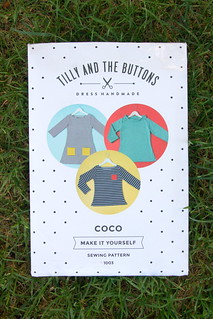 Tilly and the Buttons Coco dress on the Pattern and Branch blog | by patternandbranch