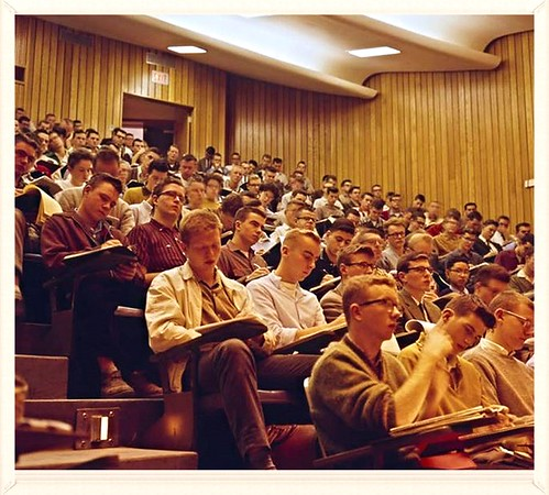 Carleton University Lecture Hall 1961
