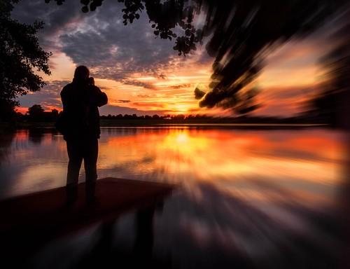 sun lake water colors reflections germany deutschland see wasser sonnenuntergang sonne eveninglight farben norddeutschland 2015 abendlicht spiegelungen sunsetcolors grpönitzersee ostseeleuchte sommer2015 stegamkurhaus