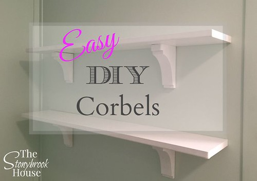 graphic about Printable Corbel Templates titled Straightforward Do it yourself Corbels (Aka Shelf Brackets, Simply Nicer!) - The