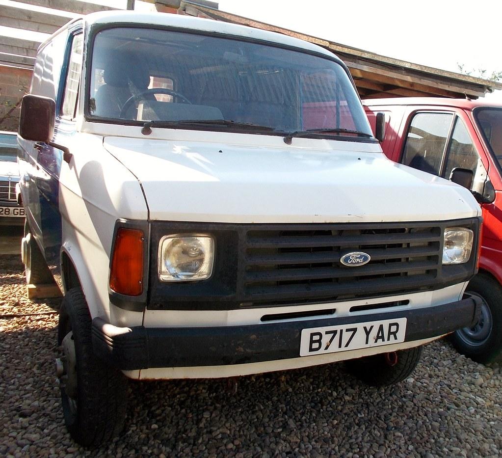 Ford Van 4X4 >> 1985 Ford Transit Mk2 2360cc County Van 4x4 B717yar Flickr