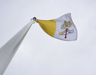 Flag-Raising Ceremony for the Holy See