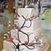 Gumpaste Flower Wedding Cakes