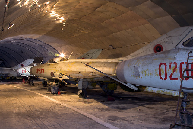 F-7 (MiG-21) Albanian Air Force