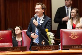 Senator Will Haskell