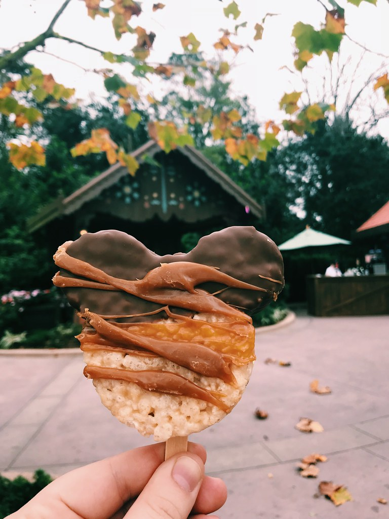 This is a picture of a rice krispie treat from Disneyworld