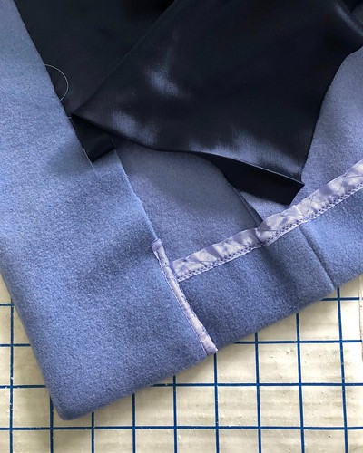Finishing the Periwinkle Coat | by vintage laura