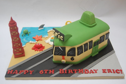 Another Year Tram For Eric This Time Complete With Blackpool Tower And Little Beach Scene The Cake From GBP90