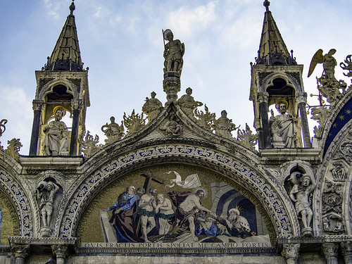 The Harrowing of Hell, Basilica San Marco, Venice | by T. Christensen