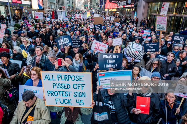 March to demand full Mueller report release