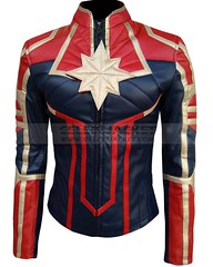 Captain Marvel Brie Larson Carol Danvers Jacket