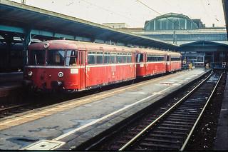 Kassel Hbf - Railbus triplet