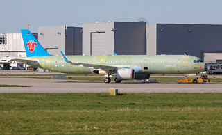 A321-253N, China Southern Airlines, D-AVZY, B- (MSN 8881)   by