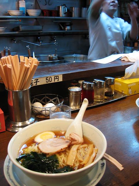 Ramen in Shinagawa