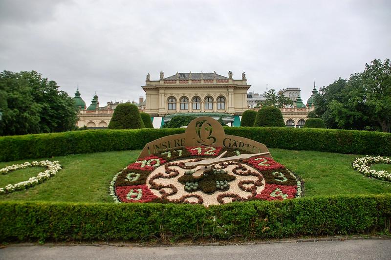 維也納城市公園花鐘及庫爾沙龍音樂廳(Kursalon Wien)