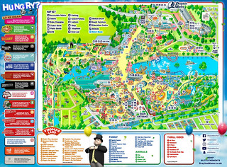 Drayton Manor 2017 Park Map | by ThemeParkMedia