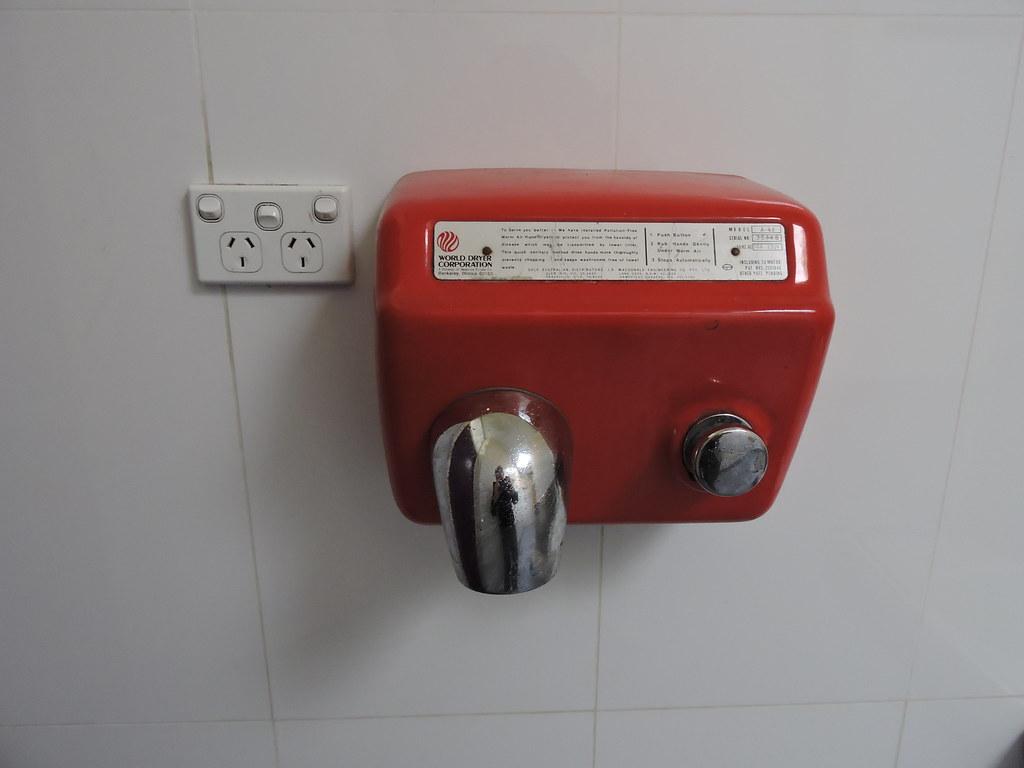 'World Dryer' - Late 1970's Model