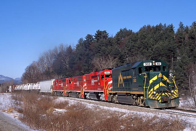 Vermont Rail System 263  East Clarendon, VT