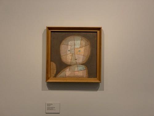 Exposição Paul Klee - Equilíbrio Instável, CCBB 2019 - Busto de uma criança   by revistaesquinas